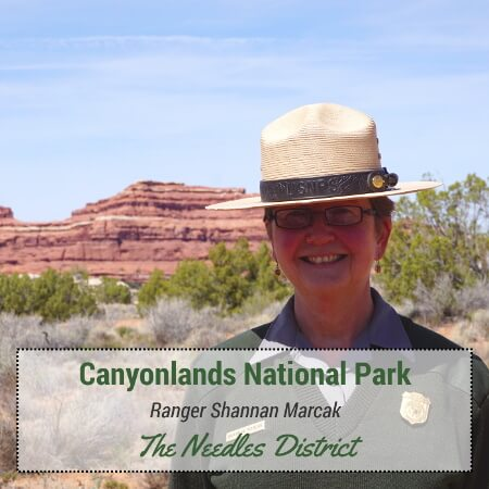 Canyonlands National Park - Ranger Shannan Marcak - The Needles District