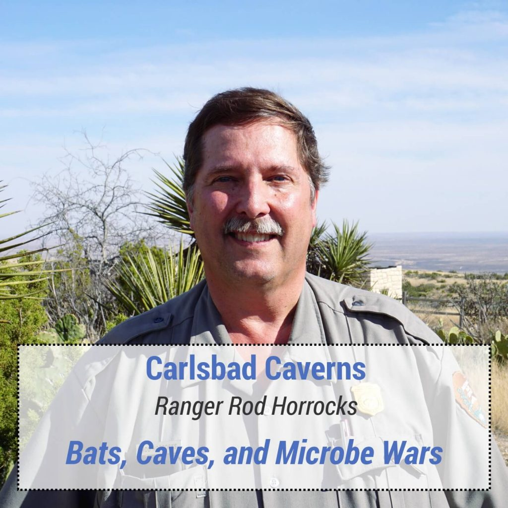 Carlsbad Caverns - Ranger Rod Horrocks - Bats, Caves and Microbe Wars