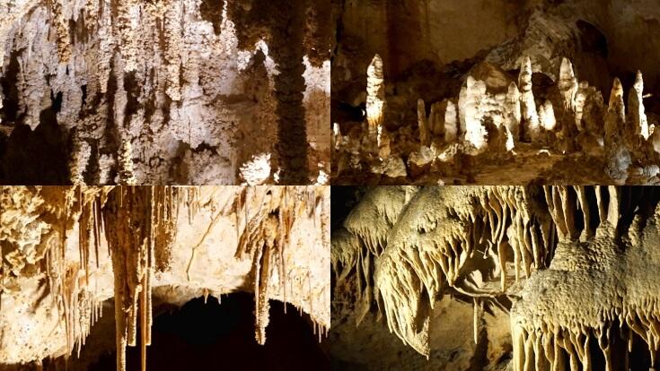 Carlsbad Caverns Tours: Popcorn, Stalactites, Stalagmites and Draperies