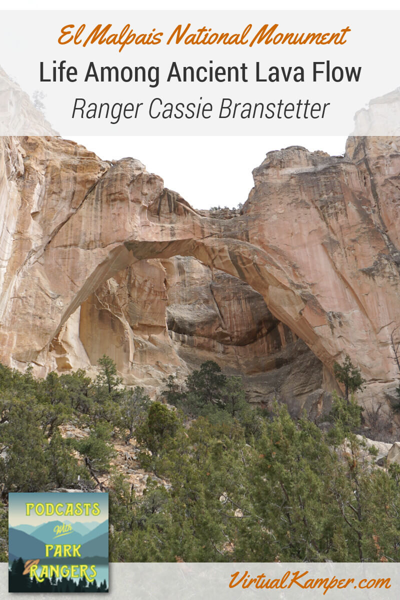 In the middle of the New Mexico desert, there used to be ancient lava flows. We speak with Cassie Branstetter about the geological past of El Malpais National Monument, and how the lava flows there are similar to those found in Hawaii. Click through to listen to this podcast episode.