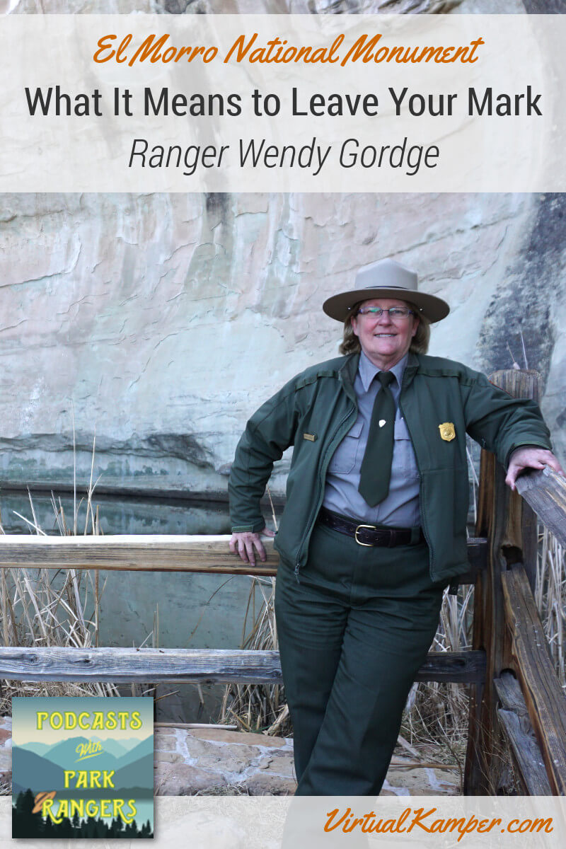 Did you know there is a National Park well known for its historical graffiti? We interviewed Ranger Wendy Gordge to find out what makes El Morro National Monument so unique! Click through to listen to this episode of Podcasts with Park Rangers!