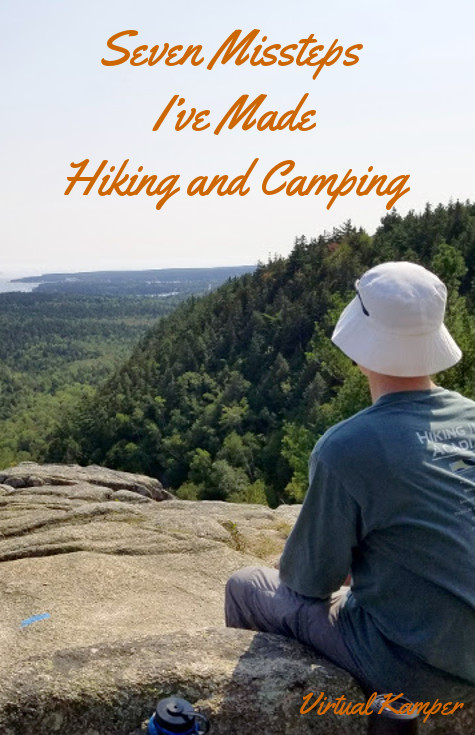 Leave No Trace: Seven Missteps I've Made Hiking and Camping