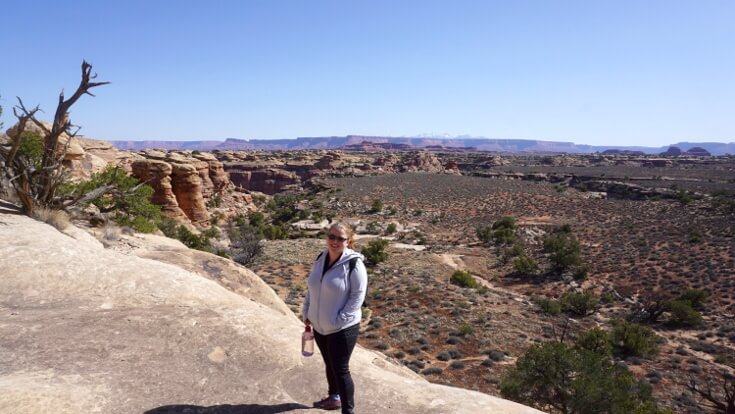 Lose Weight Hiking: An easy hike at Canyonlands