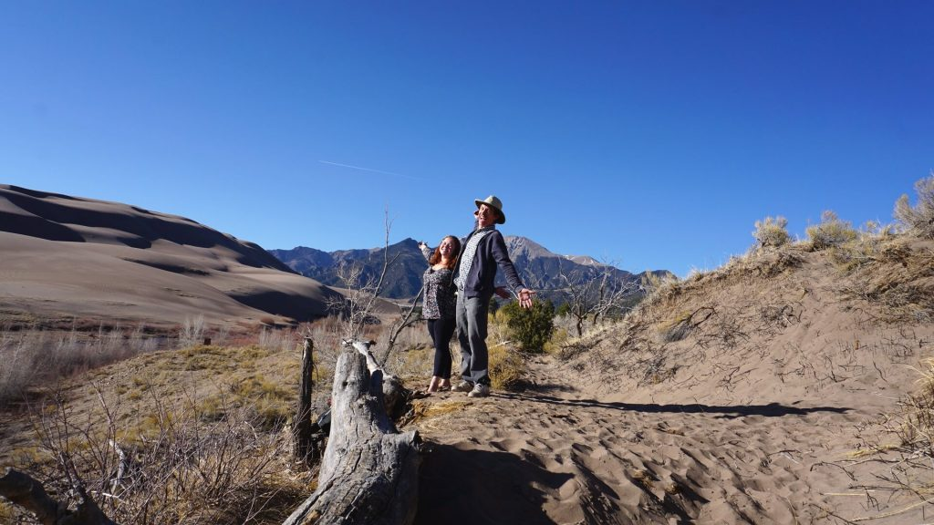 Podcasts with Park Rangers - Sarah and Lucas at Great Sand Dunes