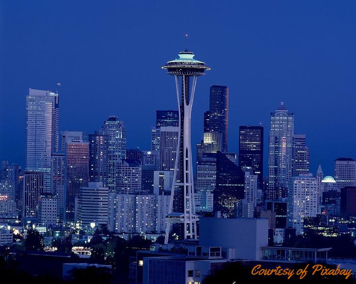 RV Adventures 2018: Seattle skyline