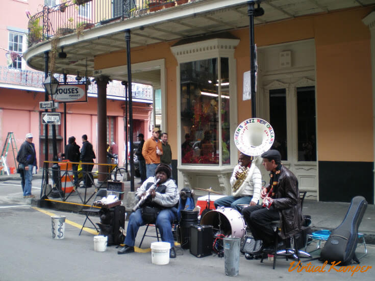 RV Adventures 2018: A Jazz Band in New Orleans