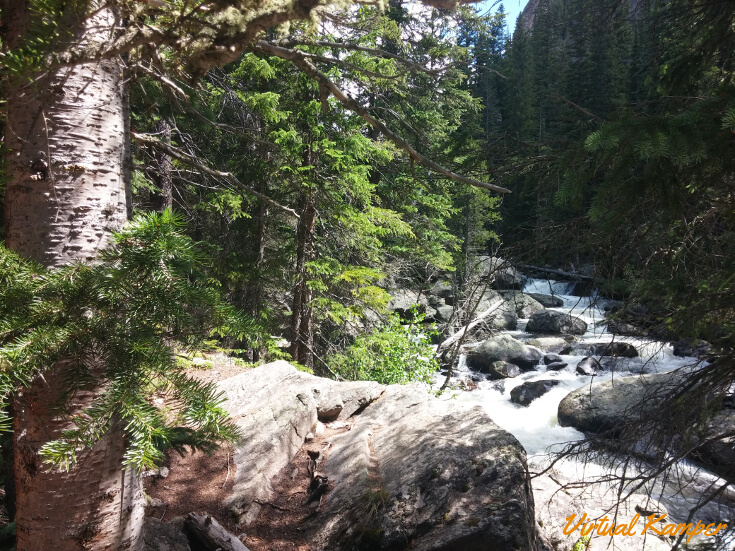 Rocky Mountain National Park: Cascade Falls