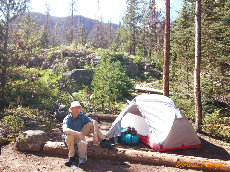 Rocky Mountain National Park: Twinberry Campsite