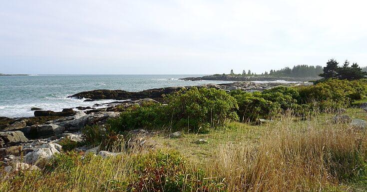 Amazing views on Schoodic Peninsula.