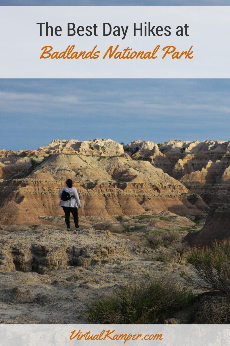 While most consider Badlands National Park a drive-through destination, we still love to get out and stretch our legs a little. So, we've compiled our favorite day hikes to help you plan your next trip through South Dakota. Click through to read more about our favorite hikes.