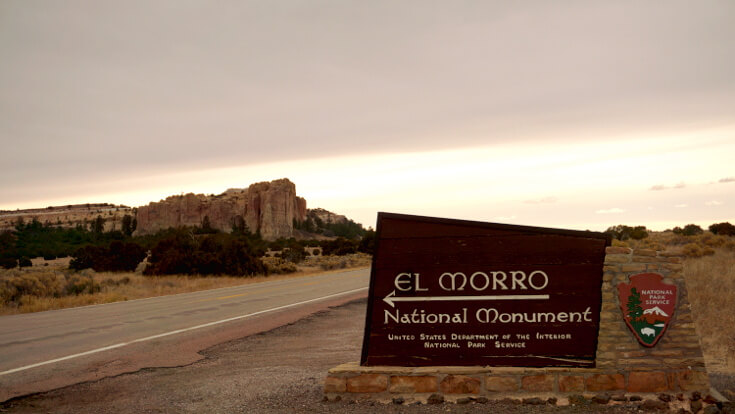 El Morro: Entrance to the Park