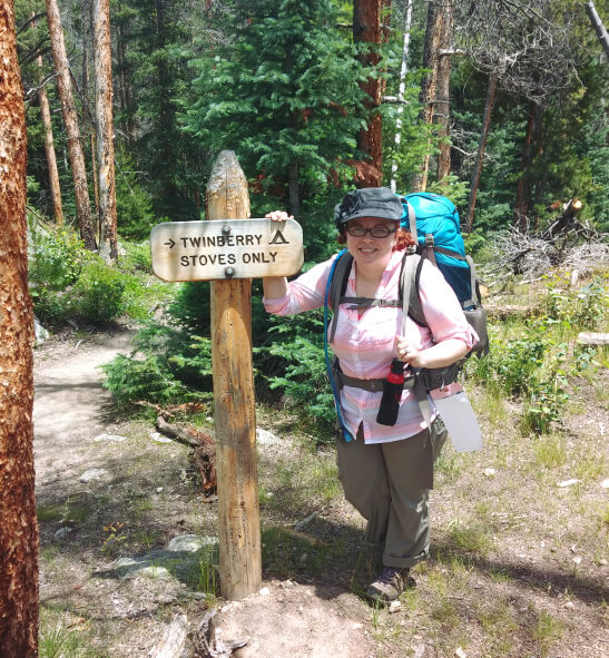Backpacking to Twinberry camspite in Rocky Mountain National Park