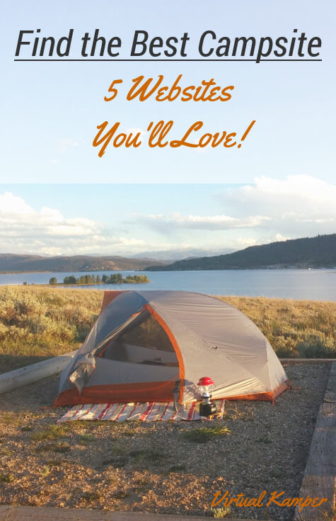 How to find the best campsite: 5 Websites and Apps you'll love!